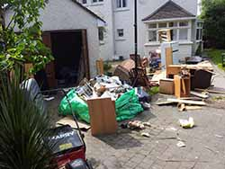 House waste before